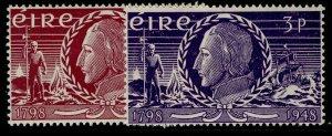 IRELAND GVI SG144-145, complete set, M MINT.