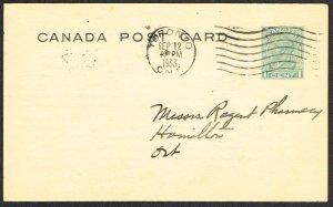 Canada Unitrade Postal Card UX52b