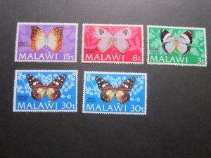 Malawi 1973 Sc 199-203 set MNH