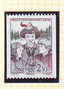 Sweden Sc1918 1991 Outdoor Life Assoc stamp NH