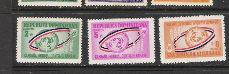 DOMINICAN REP. DOMINICANA 577-9 MOG 761G