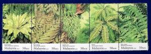 Malaysia Scott # 1284 Ferns Stamp Set MNH