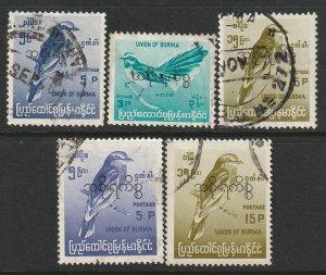 Burma O96-O98,O108,O109 official used