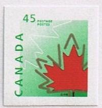 Canada Mint VF-NH #1696 Maple Leaf 45c SA