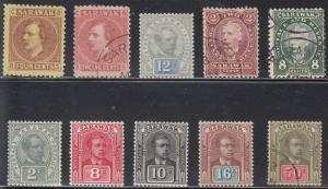 Sarawak - Mint hinged and used Scott 4 // 69 - see description