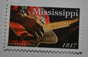 United States forever stamp Mississippi