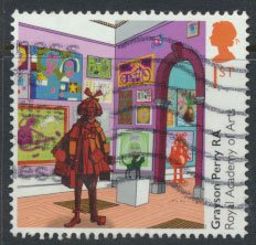 Great Britain SG 4093 Sc# 3732 Used Royal Academy of Art  - Perry