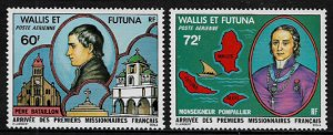 Wallis & Futuna #C80-1 MNH Set -  French Missionaries