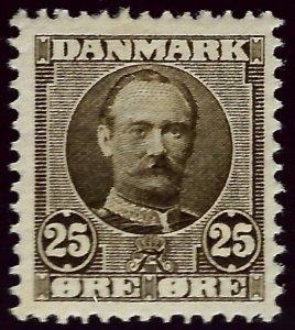 Denmark Nice SC#75 Mint F-VF hr...SCV$35.00..Grab a Bargain!