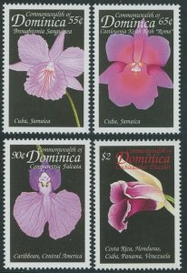 1999 Dominica 2617-2620 Flowers