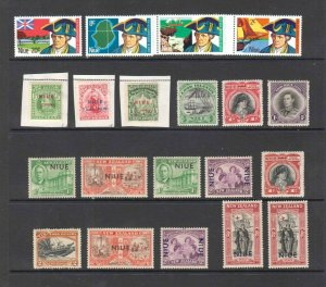 NIUE SOUND COLLECTION LOT 2 SCANS MUCH NEVER HINGED OG H-NH M/M-U/M $$$$$$$