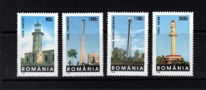 Romania MNH 4251-4 Lighthouses Architecture 1998