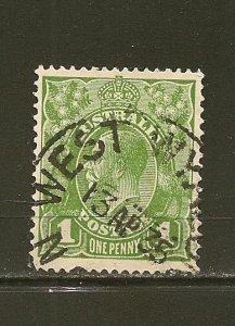 Australia 114 King George V Used
