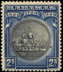 Bahamas SC# 88 SG# 129 Colony Seal 2shillings MH