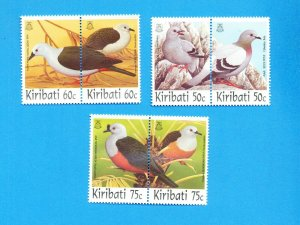 KIRIBATI - Scott 705-710 - VFMNH - Birds - 1997
