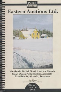 Eastern Auctions, February 14-15, 2014 sale, Canada Small Queens Postal History