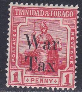 Trinidad & Tobago # MR13, War Tax Stamp, NH