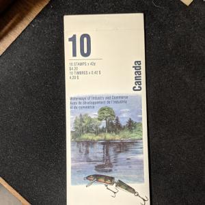 Canada 1412b booklet, XF, CV $8.50