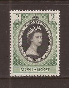 Montserrat scott #127 m/nh stock #T37828