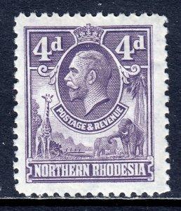 Northern Rhodesia - Scott #6 - MH - SCV $6.50