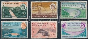 Rhodesia stamp Mi 34-39 (stain) Hinged 1960 Mi 34-39 WS231516