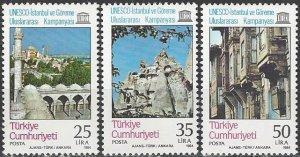 Turkey  2271-3  MNH  UNESCO