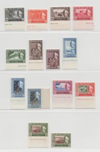 Malaya Trengganu - 1957 - SG 89-99 - MNH #2