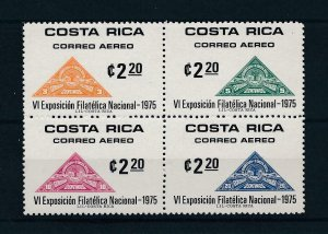 [104364] Costa Rica 1975 Stamps on stamps Triangles MNH