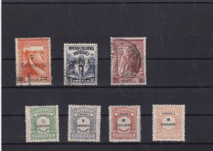 angola mounted mint+used stamps ref 10954