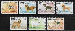 Cambodia 1049-55 Used