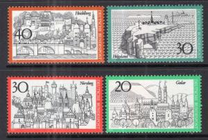 Germany 1006-1009A MNH VF
