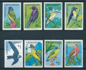 [108808] Grenada Grenadines 1990 Birds vögel oiseaux Vireo Swift Dove  MNH