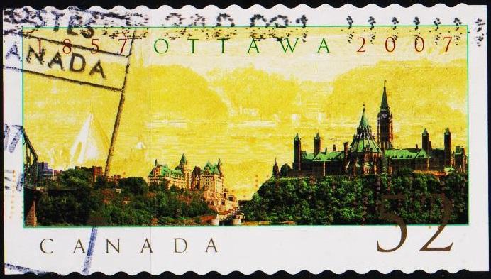Canada. 2007 52c Fine Used