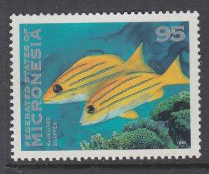 Micronesia 223 Fish MNH VF