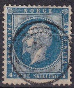 Norway #4  F-VF  Used CV $13.00 (Z6451)