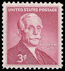 PCBstamps   US #1072 3c Andrew Mellon, MNH, (PCB-21)