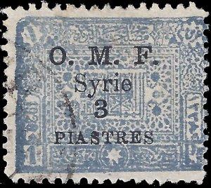 Syria 1921 YT 79 U vg