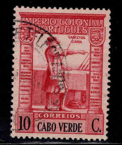 Cabo or Cape Verde Scott 236 Used stamp