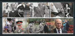 Isle of Man IOM 2017 MNH Prince Philip Lifetime Achievement 6v Royalty Stamps