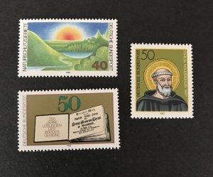Germany  1980 #1331,1333,1334  MH, SCV $2.20