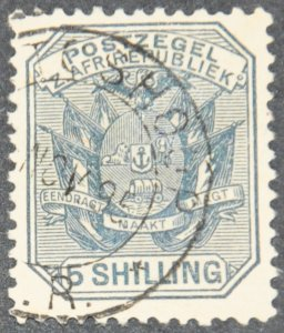 DYNAMITE Stamps: Transvaal Scott #160  – USED