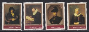 Russia MNH 5129-32 Rembrandt Paintings