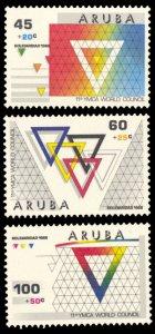 Aruba 1988 Scott #B10-B12 Mint Never Hinged