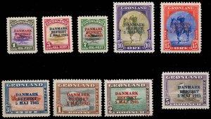 GREENLAND 19-27  Mint (ID # 83271)