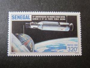 Senegal 1987 Sc 719 space set MNH