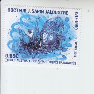 2018 FSAT Fr Antarctic Dr Sapin-Jaloustre (Scott 579) MNH