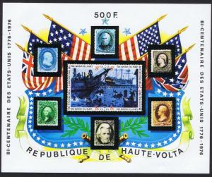 Upper Volta Bicentenary of America MS SC#358