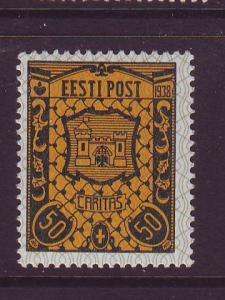 Estonia Sc B39 1938 Kuresaare Arms stamp mint NH