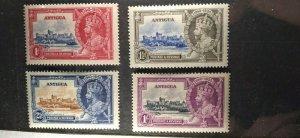 Antigua #77-80 mint hinged e21.4 13162