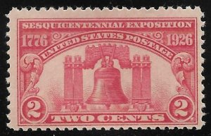 United States - Sesquicentennial Exposition  2c - F-VF - Mint Never Hinged (MNH)